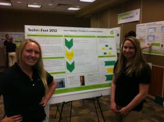 Sierra Sadler at Technofest